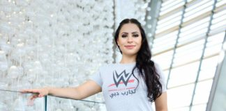 The first-ever woman from the Middle East to sign with WWE