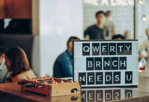 Is it a Quiz? Is it a brunch? It's the new Qwerty QWUNCH!