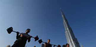 DUBAI FITNESS CHALLENGE RAISES THE BAR AT BURJ PARK