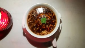 Hakkasan Hot and sour soup