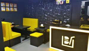 The Beatbox branding is cool and refreshing with striking yellow and black color. Because of this, the cafe is hard to miss, if you're walking past that street.